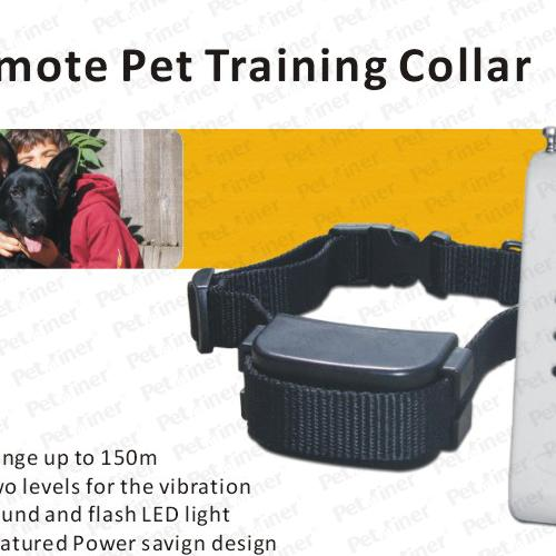 Vibration / Whistle Remote Pet Training Collar 100m With Featured Power Saving Design