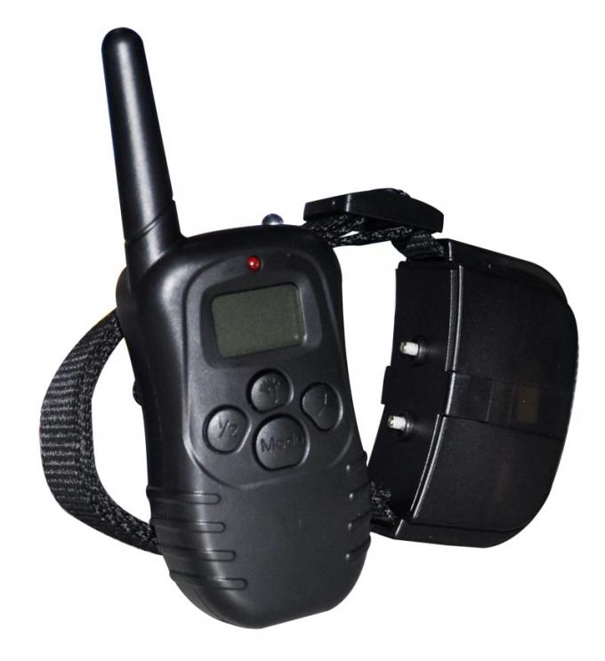 300 Meters Remote Pet Training Collar With LCD Display For 2 Dogs Training