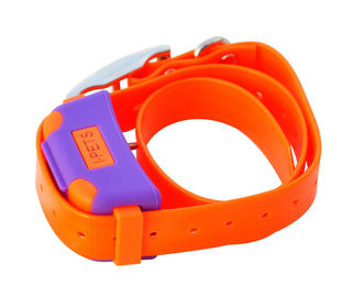 Bluetooth 4.0 Remote Pet Training Collar Orange With i-Phone Controller