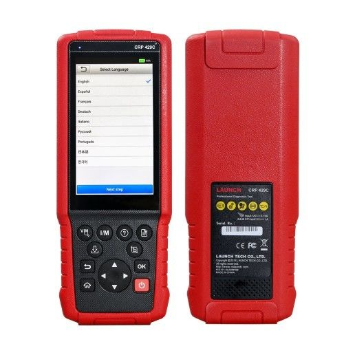 CRP 429C OBD2 Code Scanner Auto Diagnostic Tool LAUNCH X431 CRP429C For Engine/ABS/SRS/AT