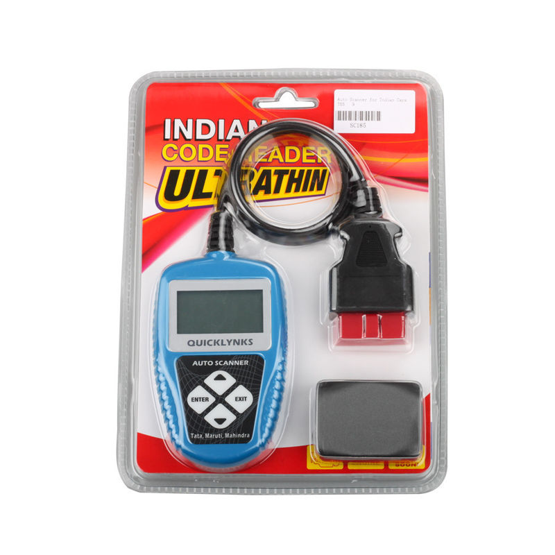 16 Pins Handheld OBD2 Scanner Codes , T65 English OBDII Fault Code Reader